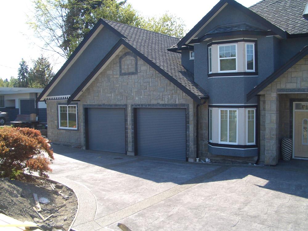 Residential garage door photos smart garage for Two door garage