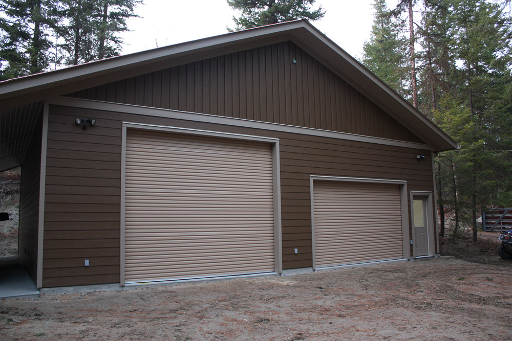 Roll Up Residential Garage Doors : Residential garage door photos smart
