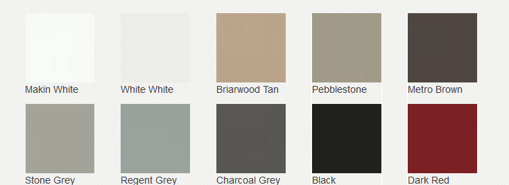 Garage Door Colours