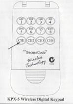 ATA Wireless Key Pad Manual
