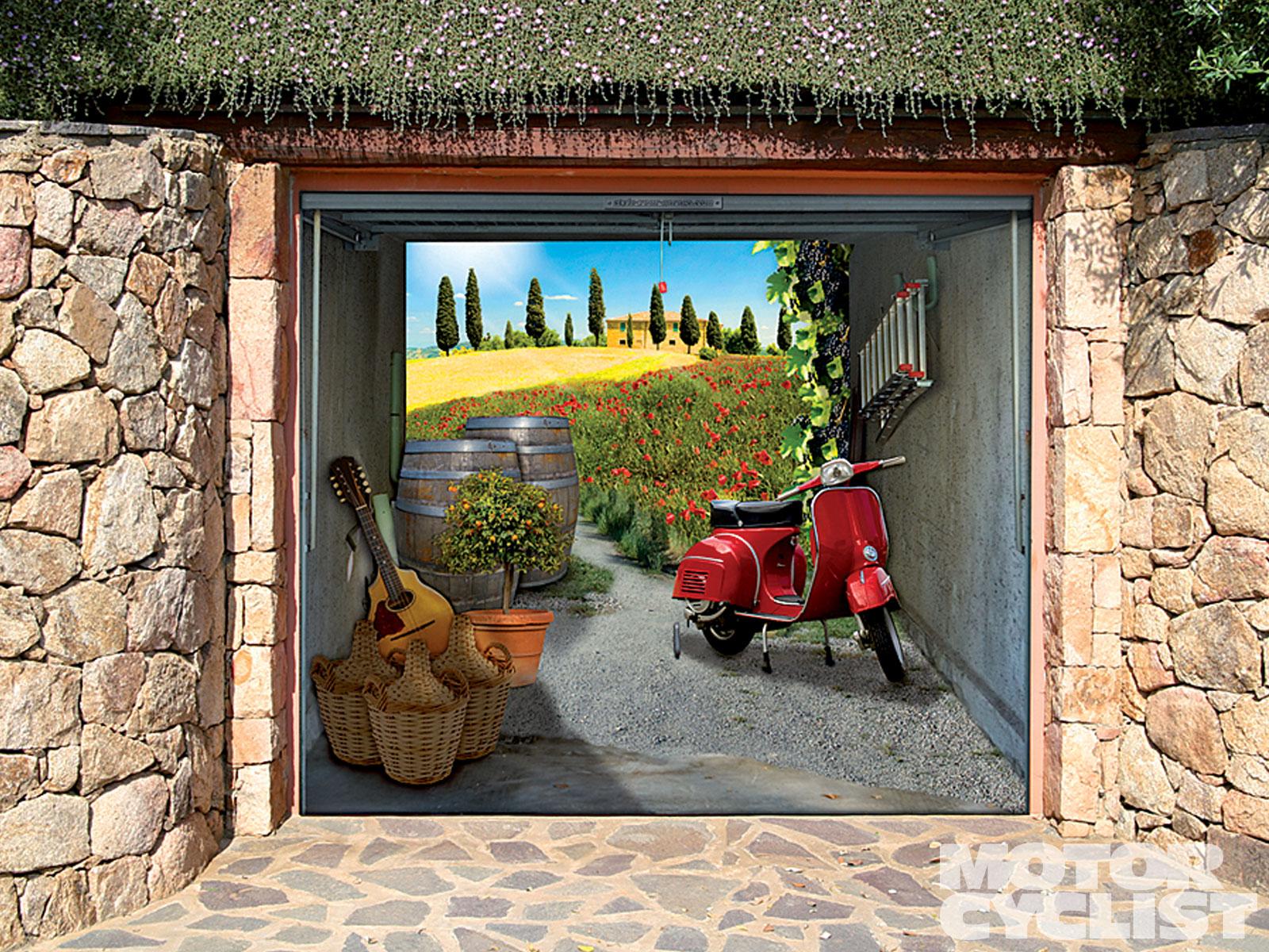 garage doors portals into another dimension smart garage. Black Bedroom Furniture Sets. Home Design Ideas