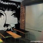 Roll Up Garage Door Cafe