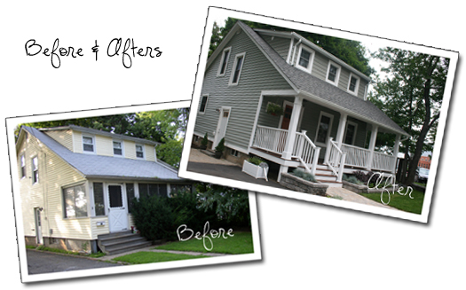 curb appeal before after us ranch curb appeal to cottage style with