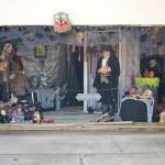 Halloween spoooky garage