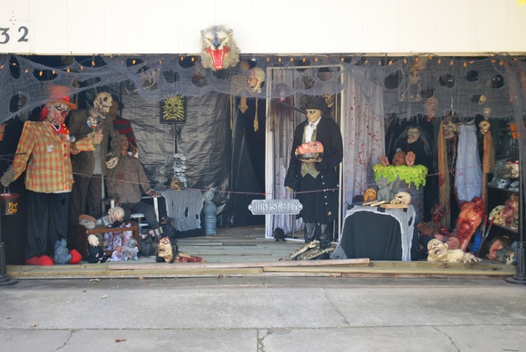 Haunted House Ideas For Garage