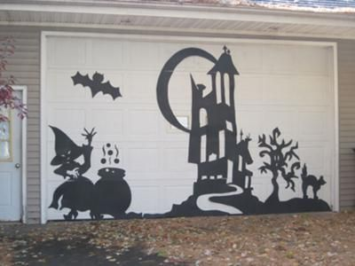 Halloween Home Amp Garage Decorations Smart Garage