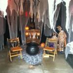 Halloween garage decoration 2
