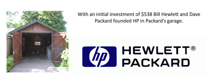Hewlett Packard HP Garage