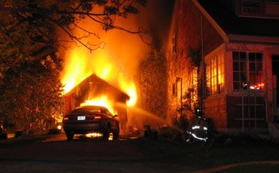 Garage Fire Prevention
