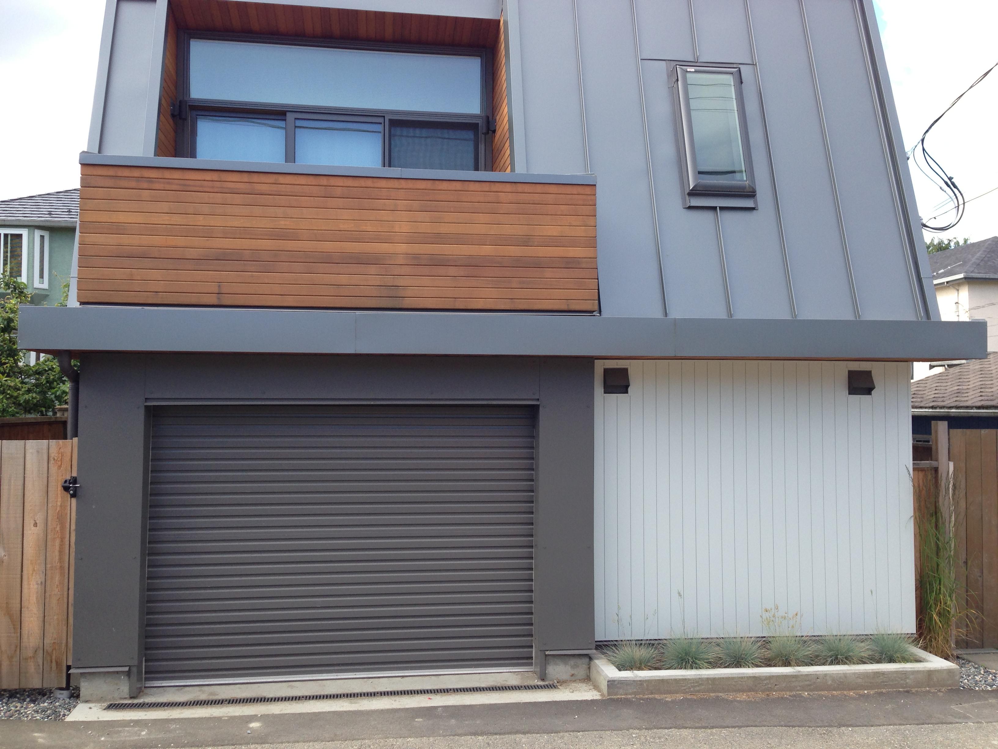 Grey Garage Doors Examples Ideas Pictures Just Another Doors Design For Home
