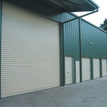 Large warehouse door