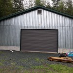 Barn roll up door