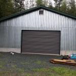 Barn roll up door