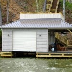 Boat house rolling door