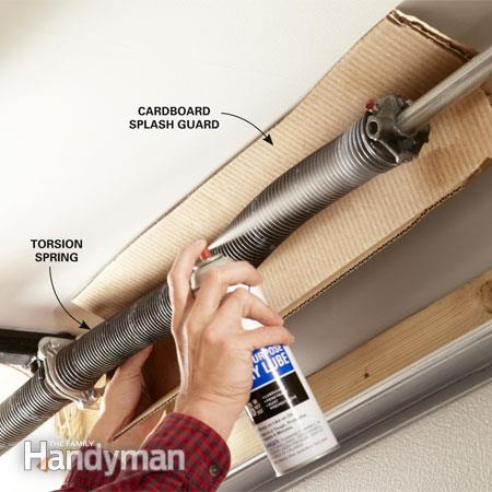 Does your Garage Door Squeak? Here's how to fix it yourself!