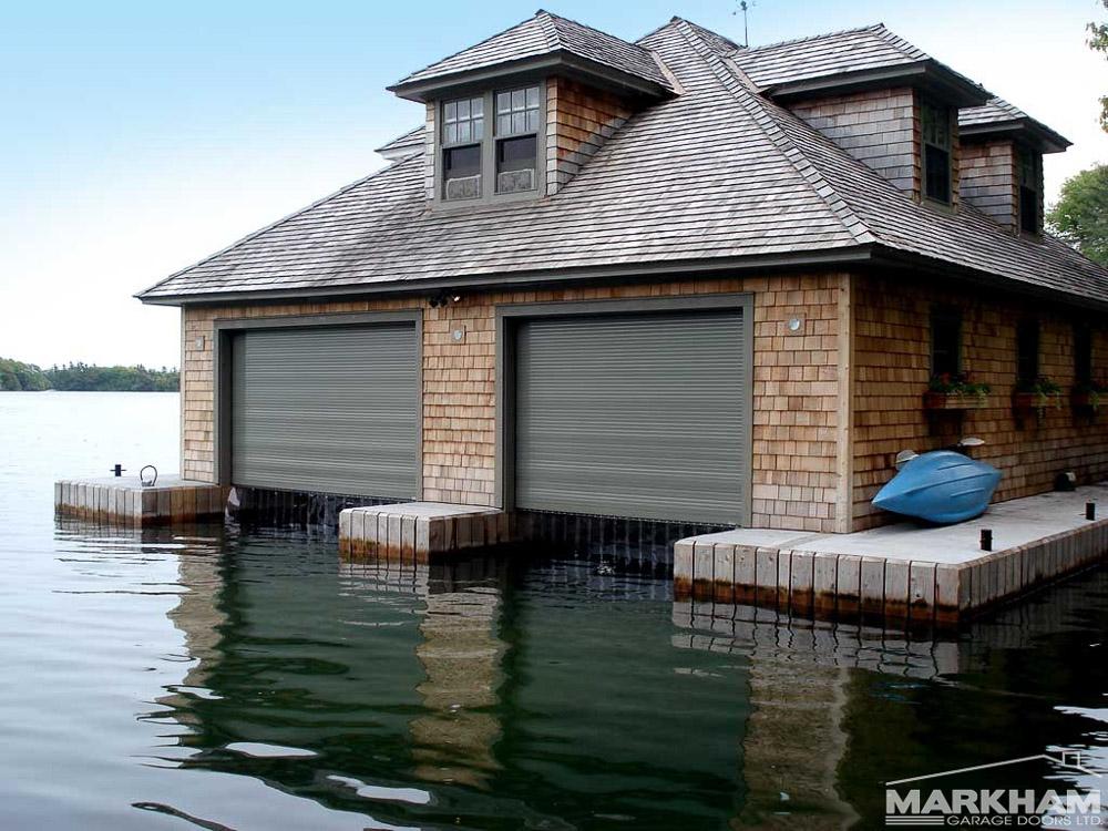 Commercial garage door photos smart garage for Boat garages