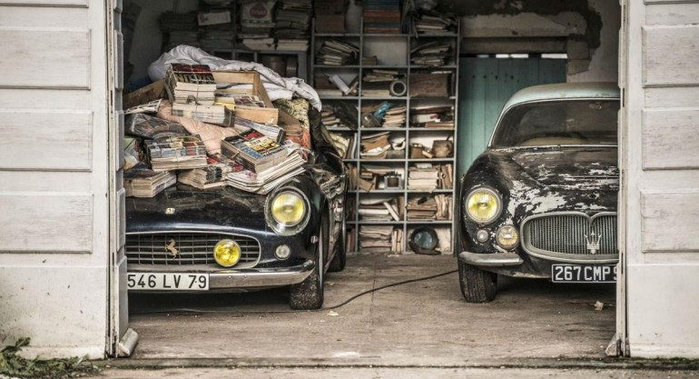 60 Rare Cars Unearthed from Dilapidated French Barns
