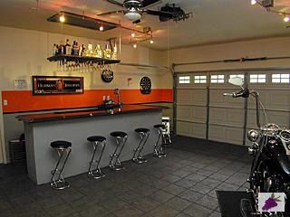 Harley Davidson Garage Ideas Man Caves