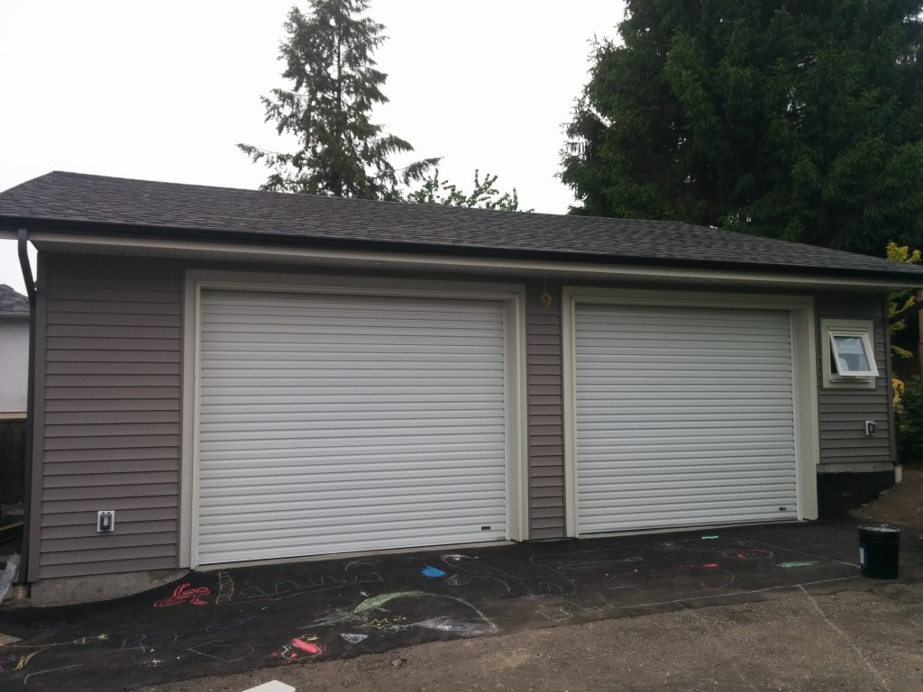 768 #4B5F6C Roll Up Garage Doors In Coquitlam Smart Garage pic Roll Up Residential Garage Doors 38511024