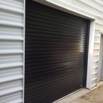 Black Roll-up-door