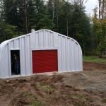 Rollup Barn Door