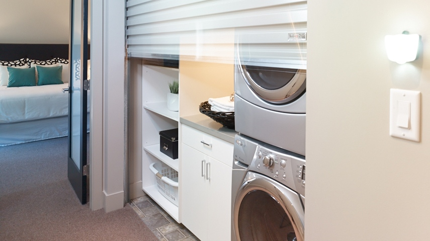 laundry room roll up door