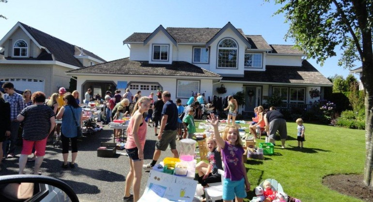 Garage sale – clean and make some $$
