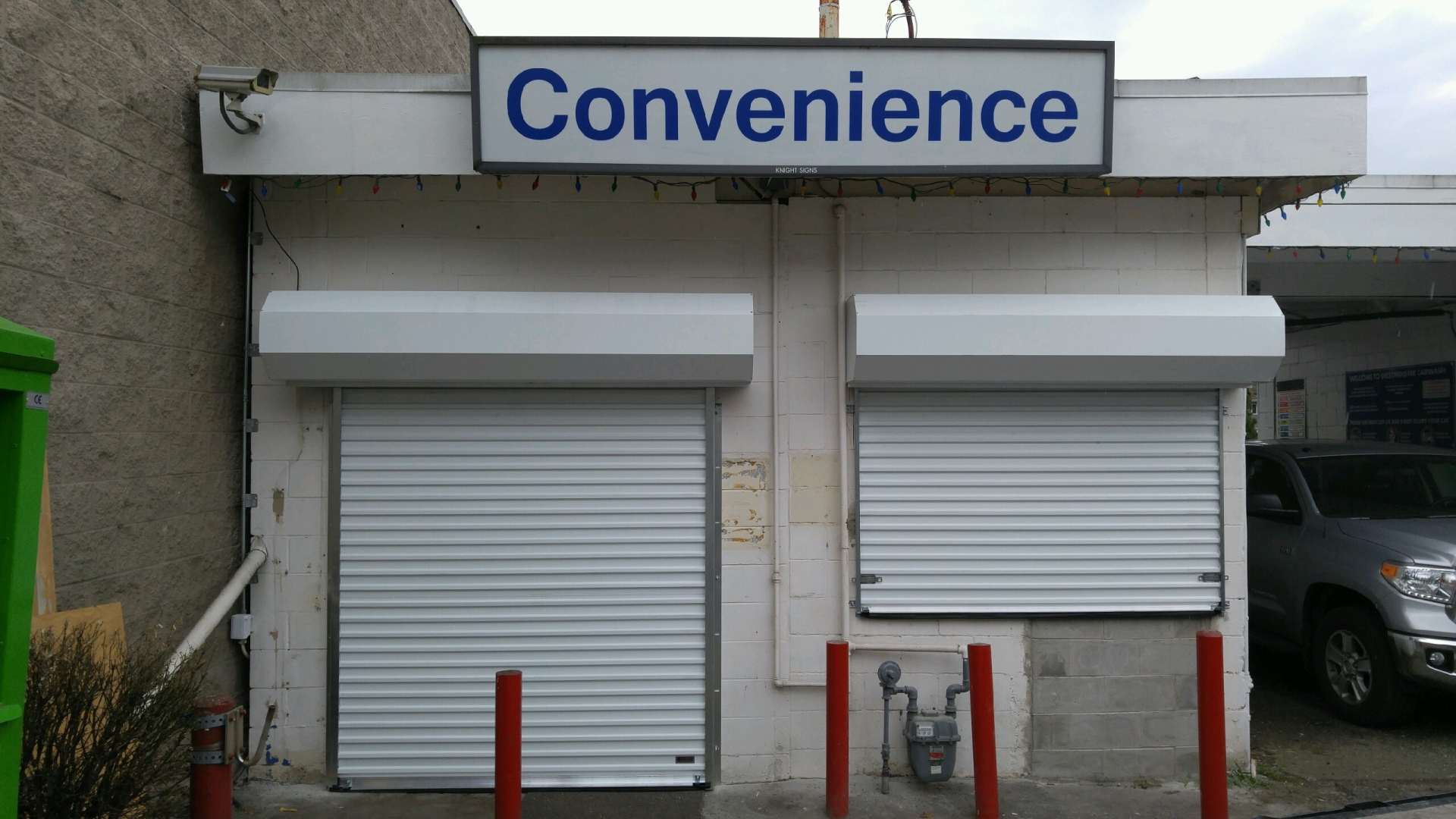 Gas Station Security Shutters