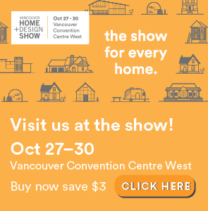 Upcoming event: Vancouver Home + Design show 2016