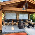 Outdoor Bar Shutter