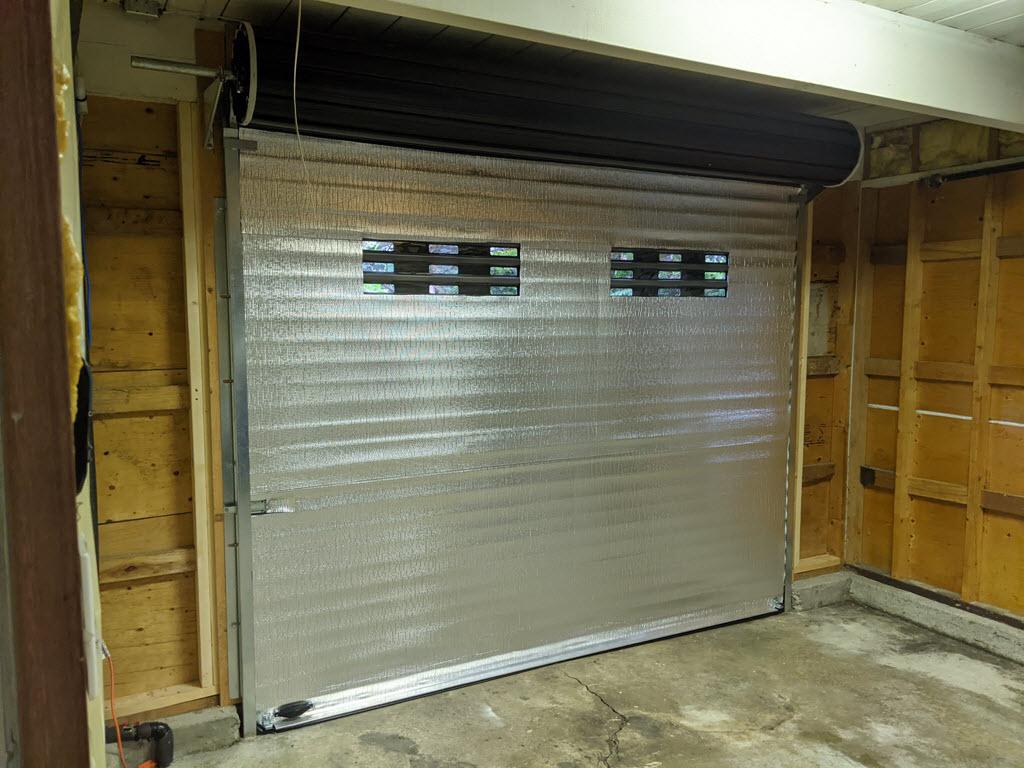 Roll Up Door Faq Smart Garage, Insulated Steel Roll Up Garage Doors